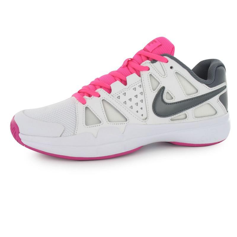 Nike Air Vapour Advantage Tennis Shoes Ladies Violet/Black
