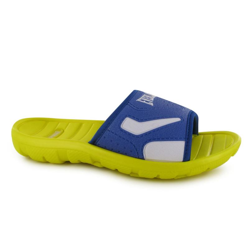 Boty Everlast Pool Childrens Sliders Yellow/Royal