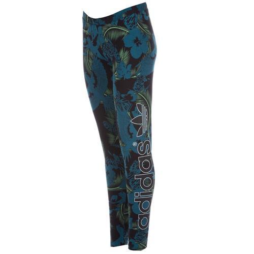 Legíny Adidas Originals Womens Hawaii Leggings Multi colour