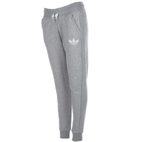 Tepláky Adidas Originals Womens Slim Track Pants Grey Marl