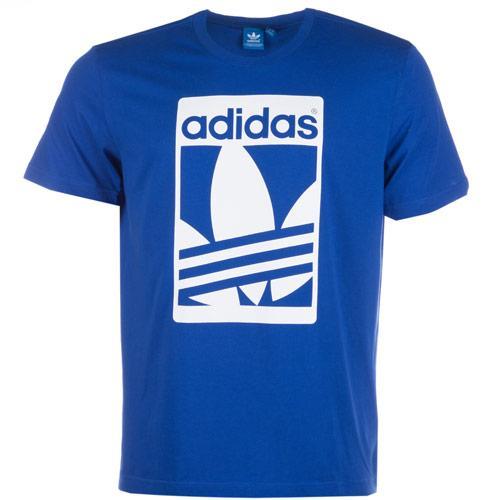 Tričko Adidas Originals Mens Graphic Street T-Shirt 52684 Blue