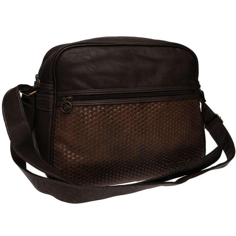 Dunlop Messenger Bag Brown, Velikost: ostatní