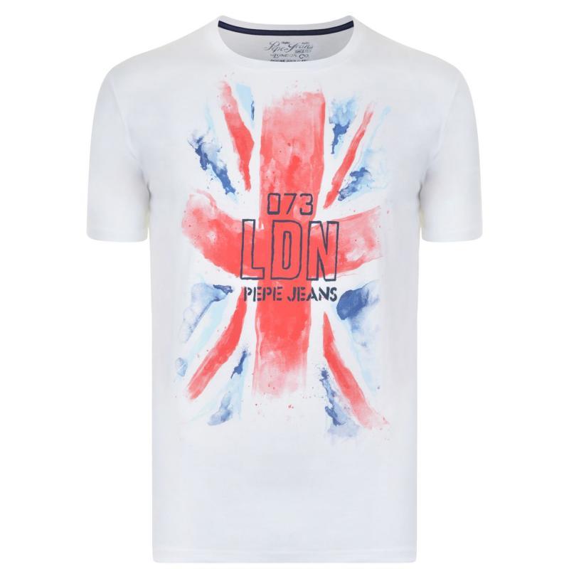 Tílko PEPE JEANS David T Shirt White