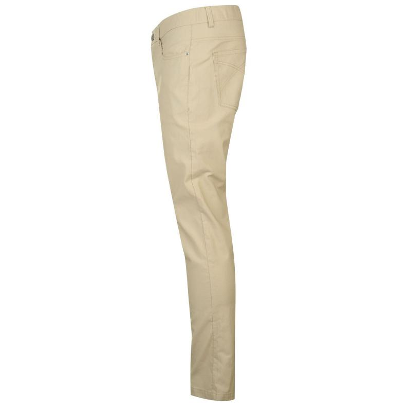 Kalhoty Pierre Cardin Bedford Cord Trousers Mens Ivory