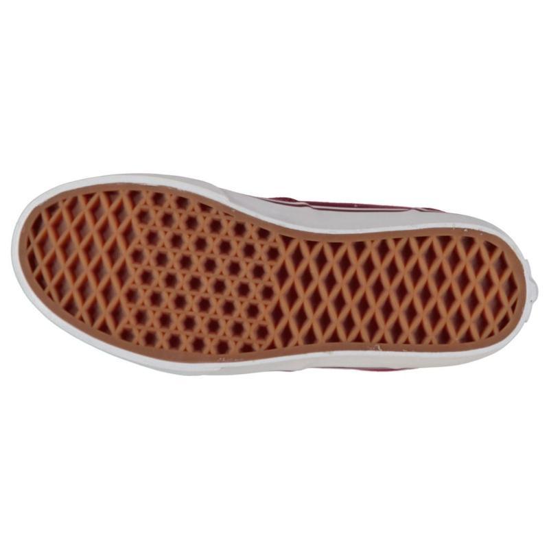 Boty Vans Winston Boys Skate Shoes Burgundy