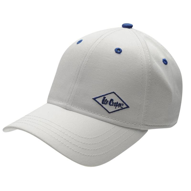 Lee Cooper Junior Cap White
