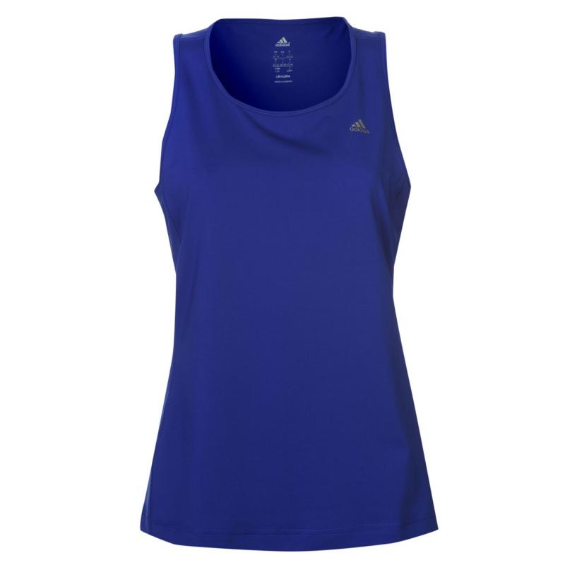 adidas Climalite Essential Tank Top Ladies Blue