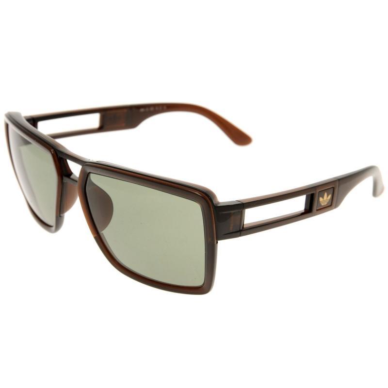 Adidas Originals Custom Hi Sunglasses Brown/Green
