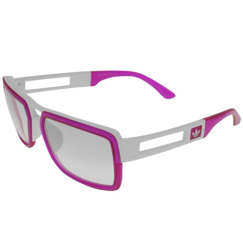 Adidas Originals Custom Lo Sunglasses Purpl/Wht/Clear