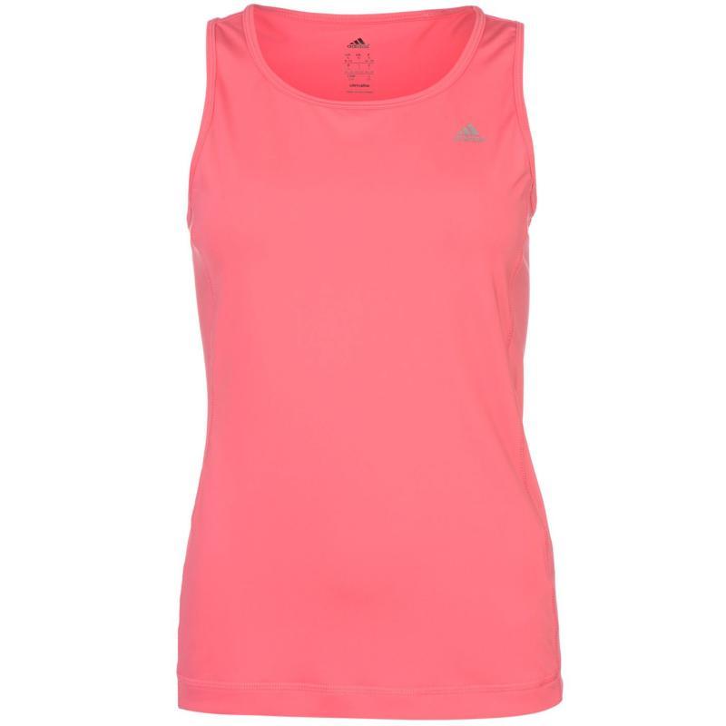 adidas Climalite Essentials Training Vest Ladies Pink