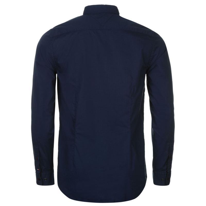 Košile Hilfiger Denim Pennie Long Sleeve Shirt Navy, Velikost: M