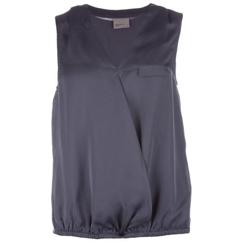 Vero Moda Womens Tigray Lea Top Blue
