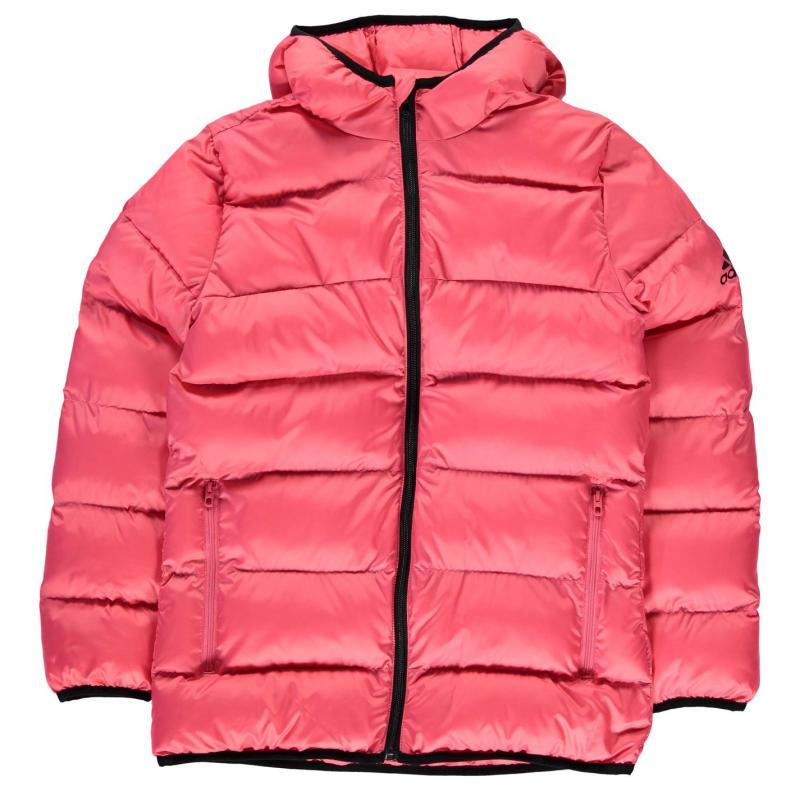 adidas YG BTS Jacket Junior Girls Pink/Black, Velikost: 13 let