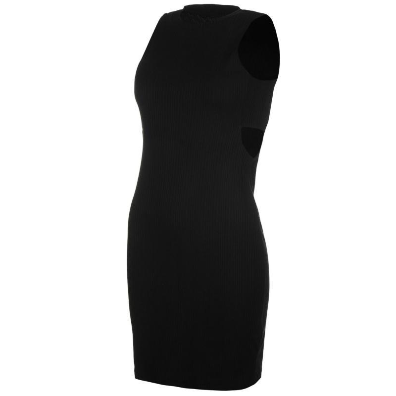 Šaty Vero Moda Erica Sleeveless Dress Black