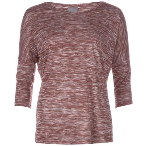 Vero Moda Womens Anna Asti 3 Quarter Top Rust