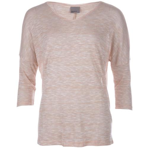 Vero Moda Womens Anna Asti 3 Quarter Top Rose