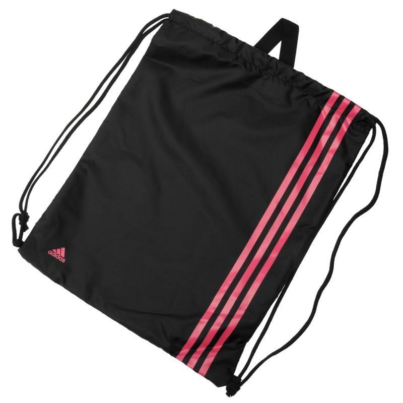 adidas 3 Stripe Gymsack Blue/Red
