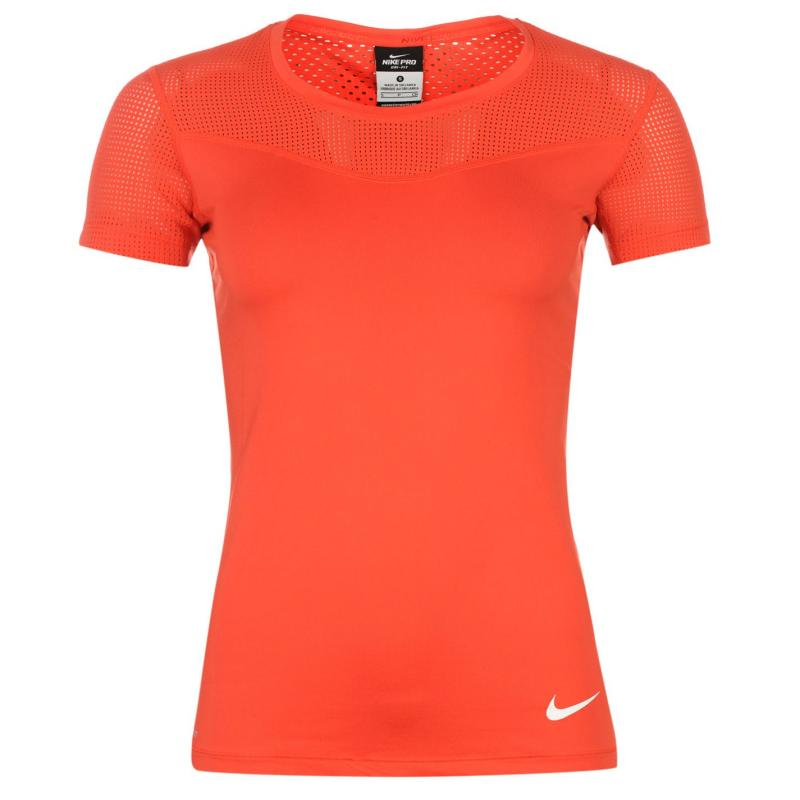 Nike Pro Hypercool T Shirt Ladies Pink