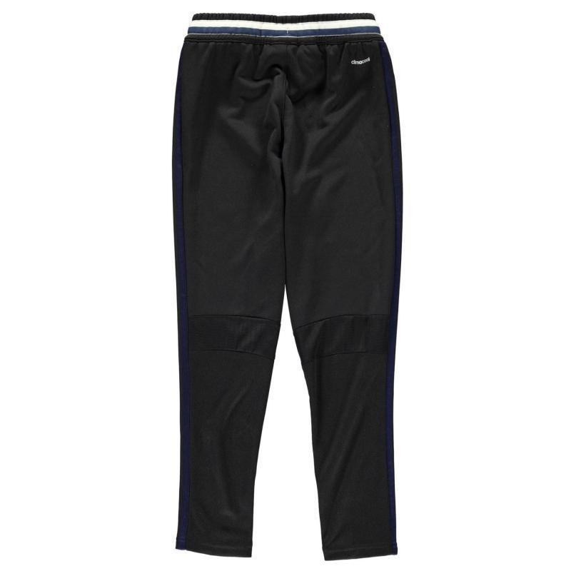Tepláky adidas Manchester United FC Tracksuit Bottoms Junior Black/White