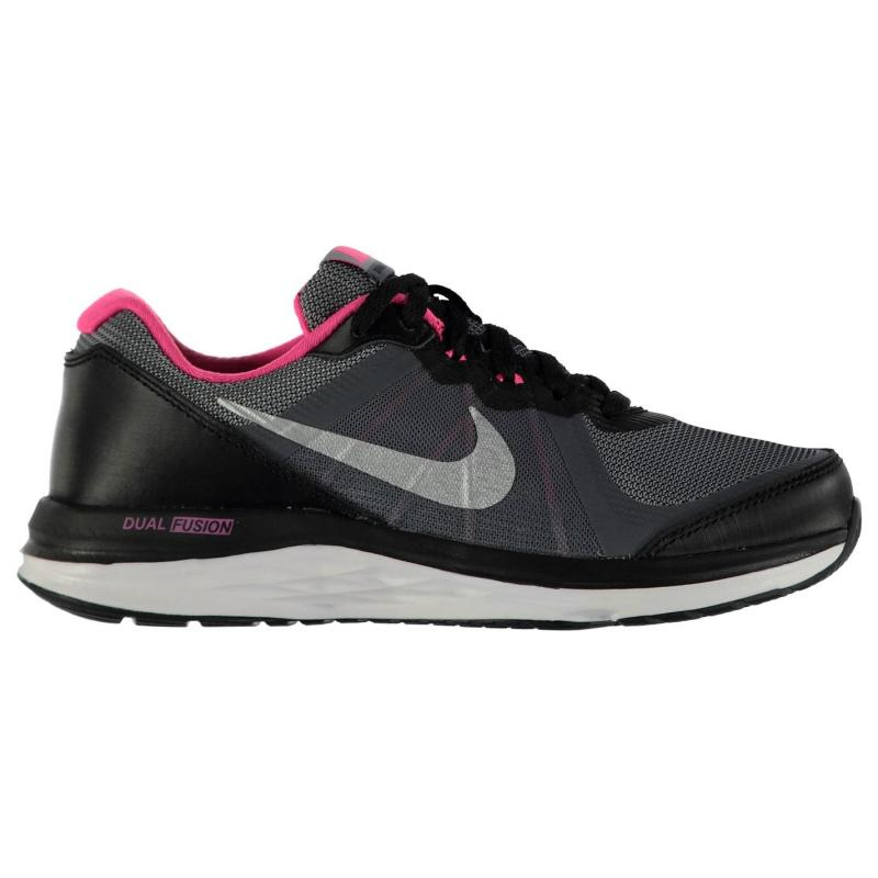 Nike Dual Fusion X2 Trainer Junior Girls Blue/Silver