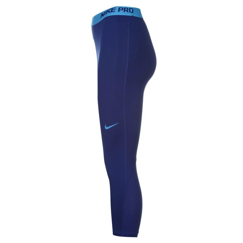 Nike Pro Training Capris Ladies Royal
