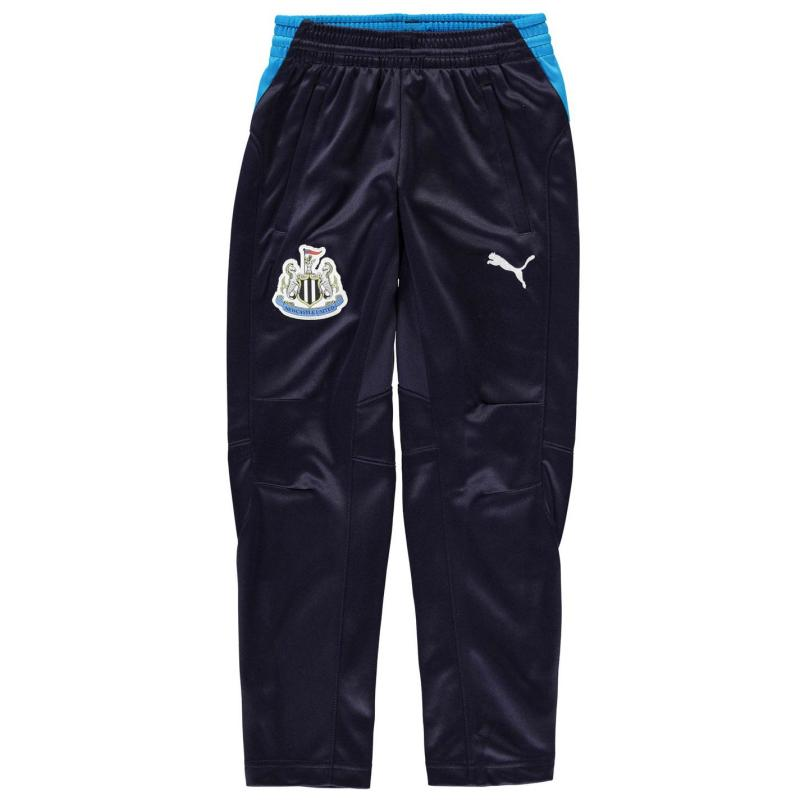 Tepláky Puma Newcaste United Zip Tracksuit Bottoms Junior Navy/Blue