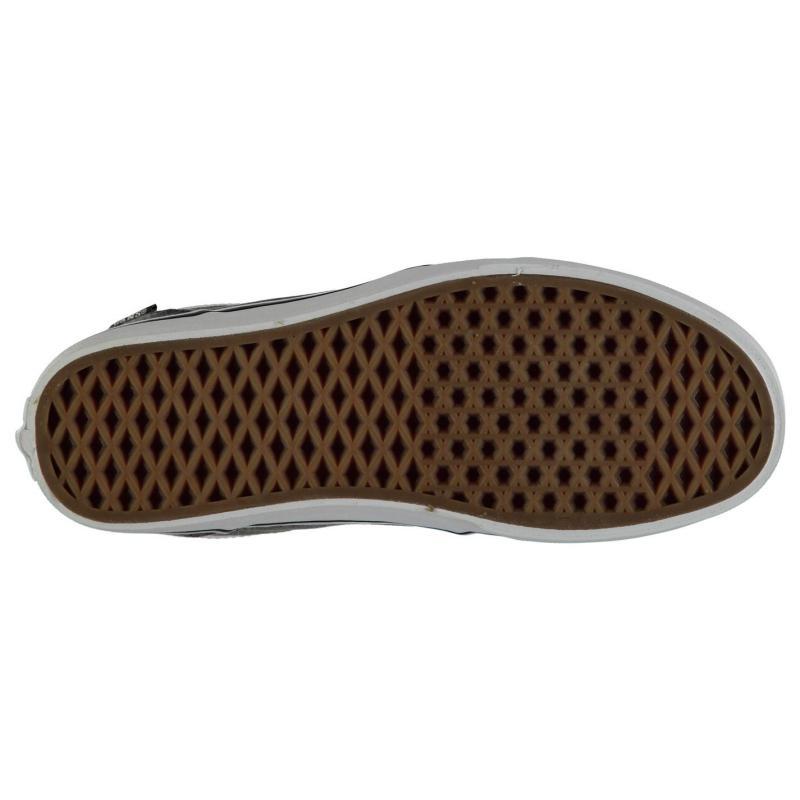 Boty Vans Chapman Stripe Canvas Shoes Black/White