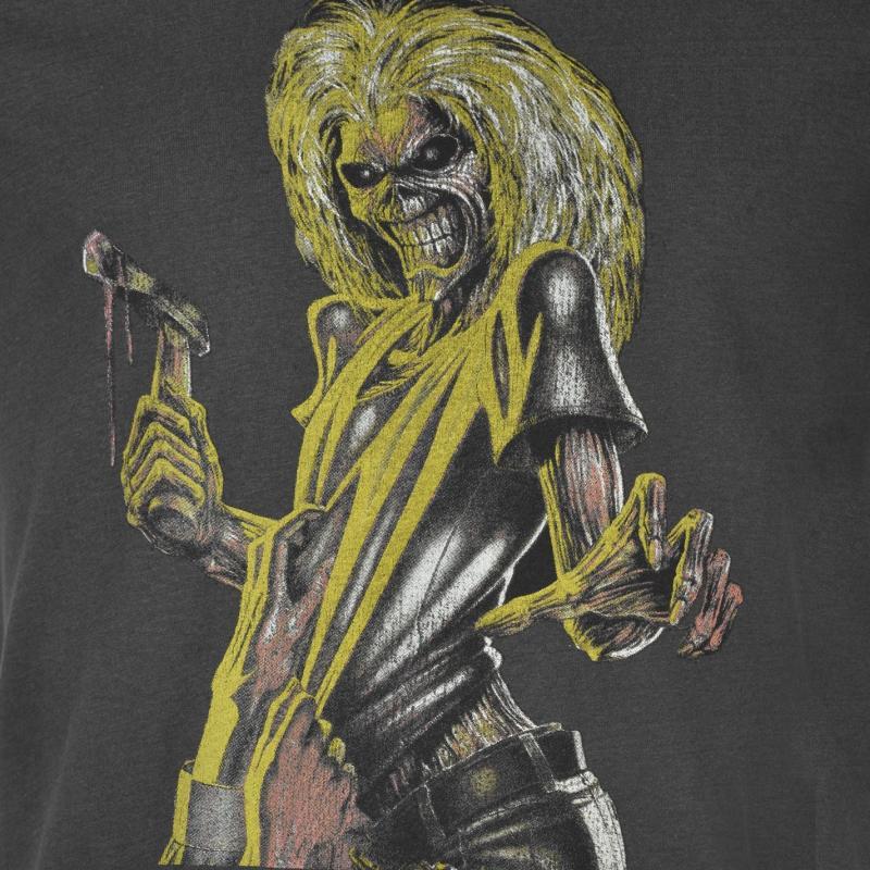 Tričko Amplified Clothing Iron Maiden T Shirt Mens Killers, Velikost: S