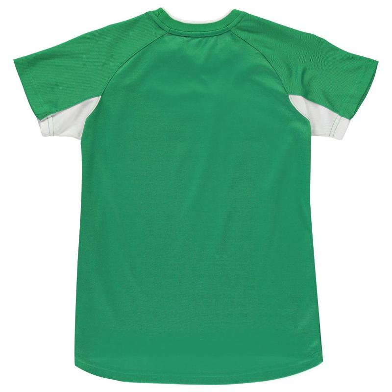 Tričko Source Lab Celtic Poly Tee Junior Boys New Green