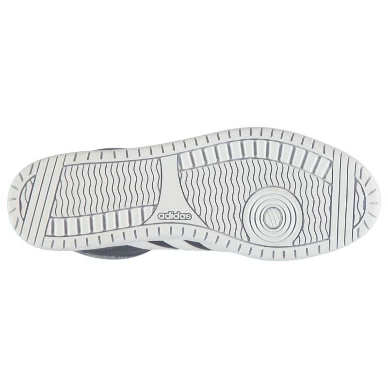 Boty adidas Hoops Mid Nbk Sn64 Dk Brown/White, Velikost: UK6 (euro 39)