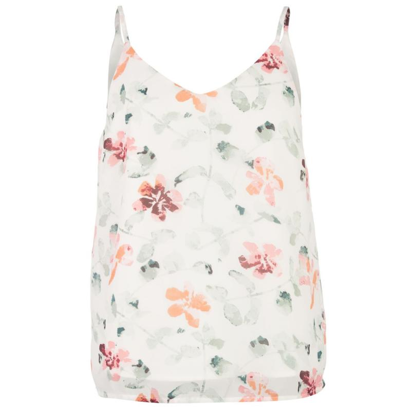 Vero Moda Lilly Singlet Snow White