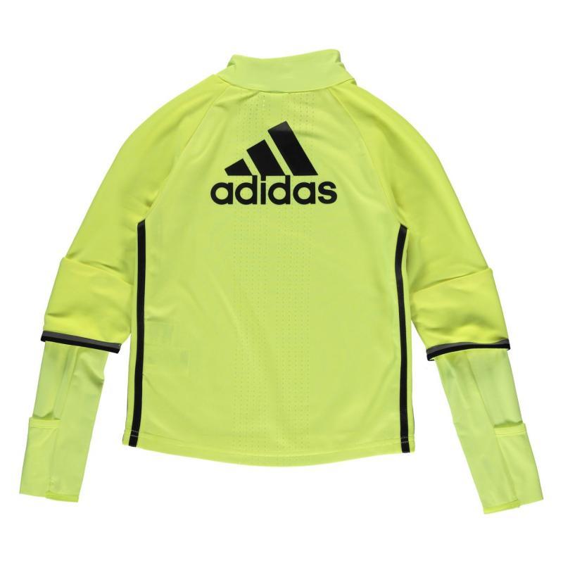 Tričko adidas Chelsea FC Training Top Junior Boys Yellow/Blk