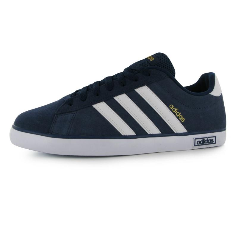 Boty adidas Derby Vulc Suede Trainers Mens Navy/White, Velikost: UK6 (euro 39)