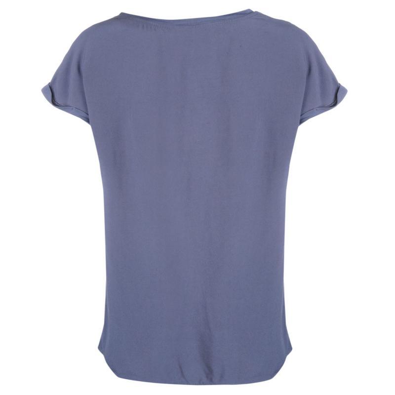 Vero Moda Cali Short Sleeve Top Ombre Blue