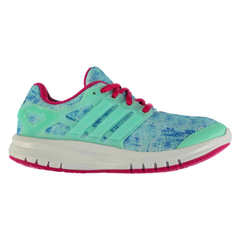 adidas Energy Cloud Running Trainer Junior Girls Ice Green/White