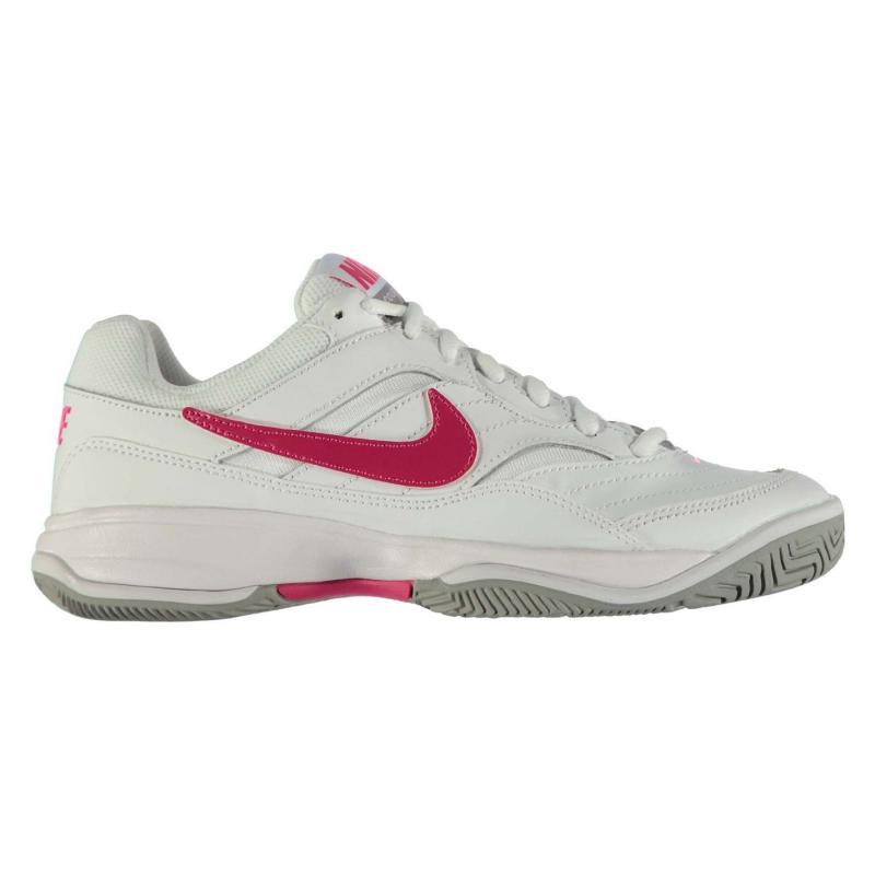 Nike Court Lite Tennis Shoes Ladies White/Cherry, Velikost: UK6 (euro 39)