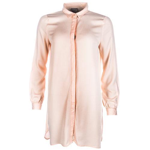 Vero Moda Womens Newmaker Long Shirt Peach