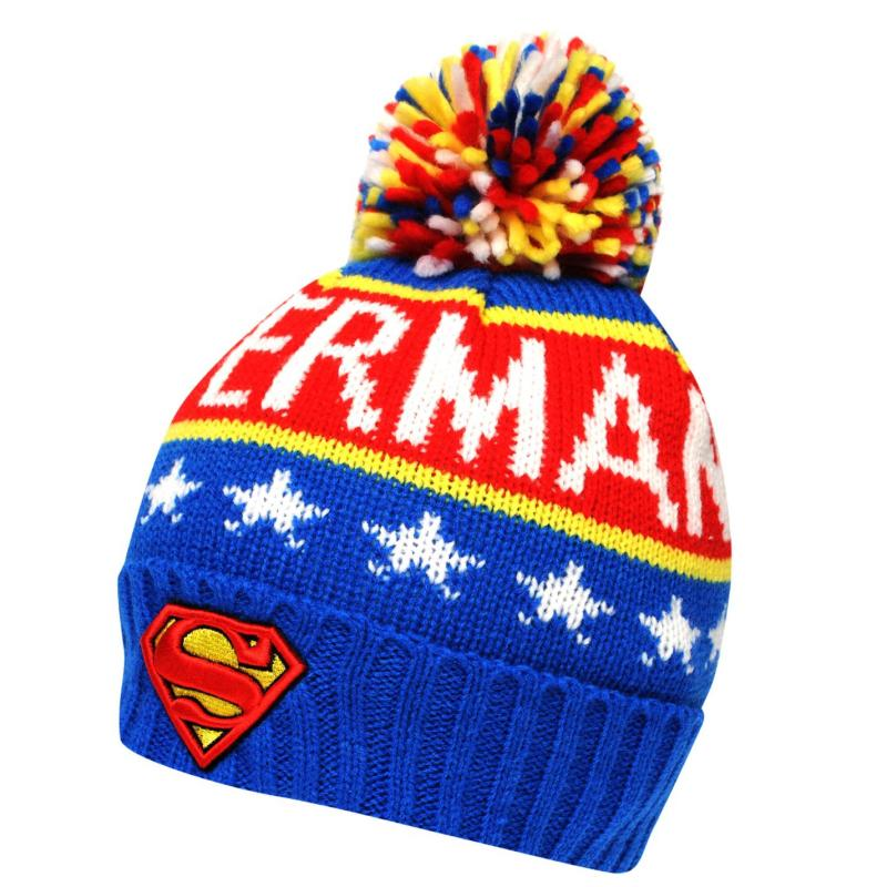 Character Wool Hat Mens Superman