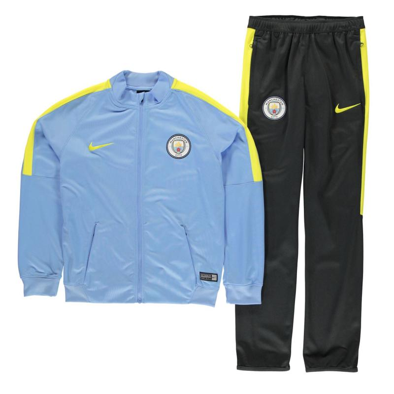 Tepláky Nike Manchester City Woven Tracksuit Junior Boys Blue/Obsidian