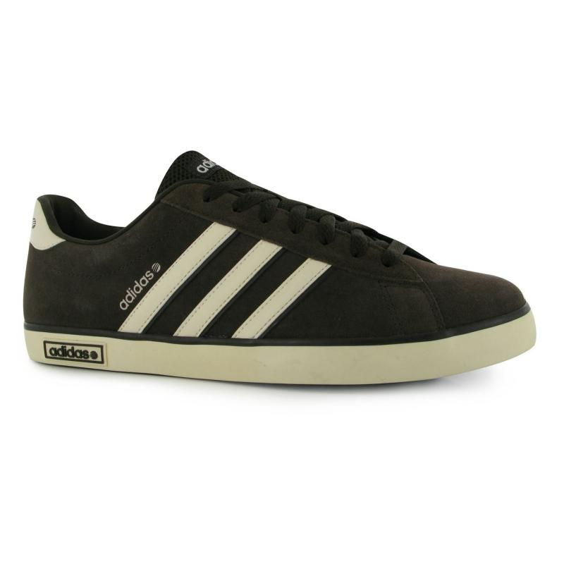 Boty adidas Derby Vulc Suede Trainers Mens DkBrown/OffWht, Velikost: UK11 (euro 46)
