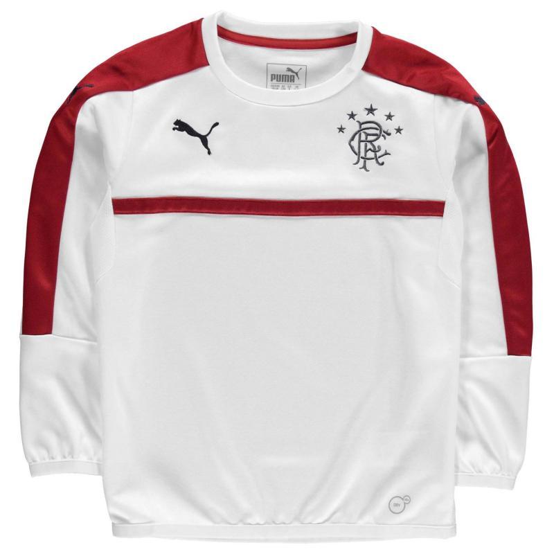 Mikina Puma Rangers Sweatshirt Junior White