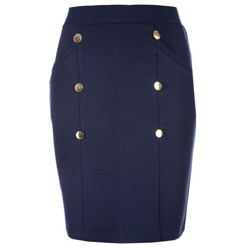 Sukně Vero Moda Womens Sofia Skirt Navy