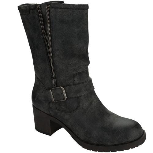 Rocket Dog Womens Hallie Boots Black, Velikost: UK6 (euro 39)
