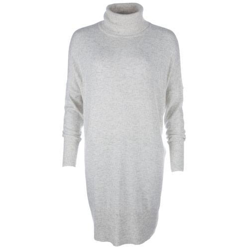 Svetr Vero Moda Womens Indi Wool Jumper Light Grey