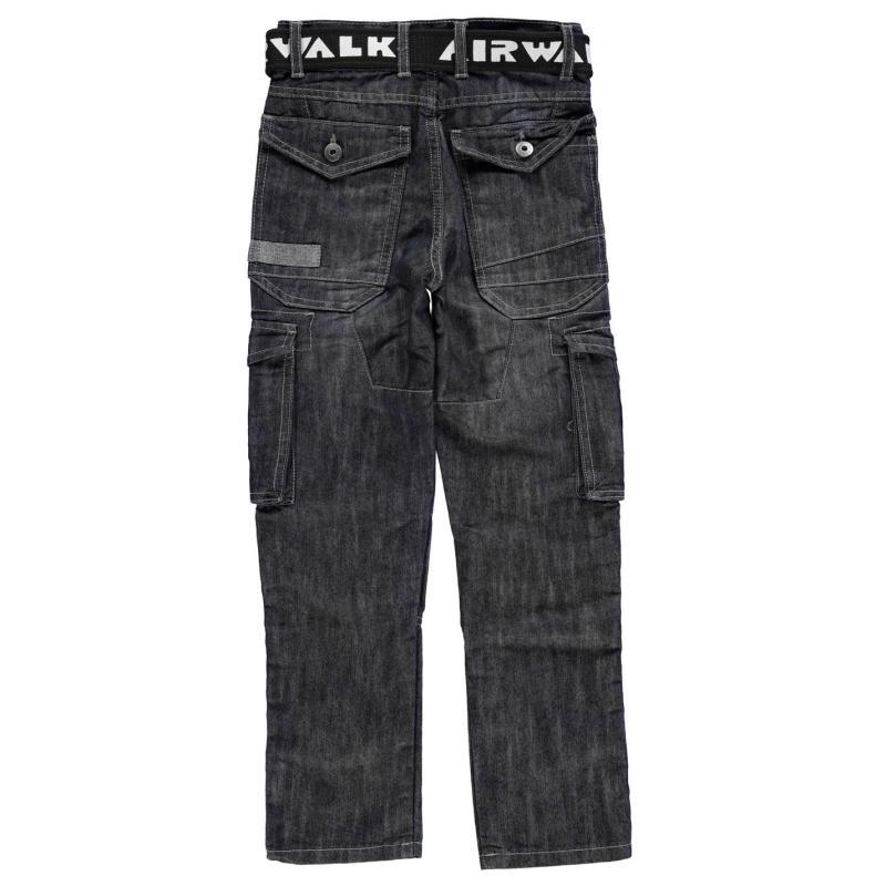 Kalhoty Airwalk Dark Wash Jean Junior Dark Wash