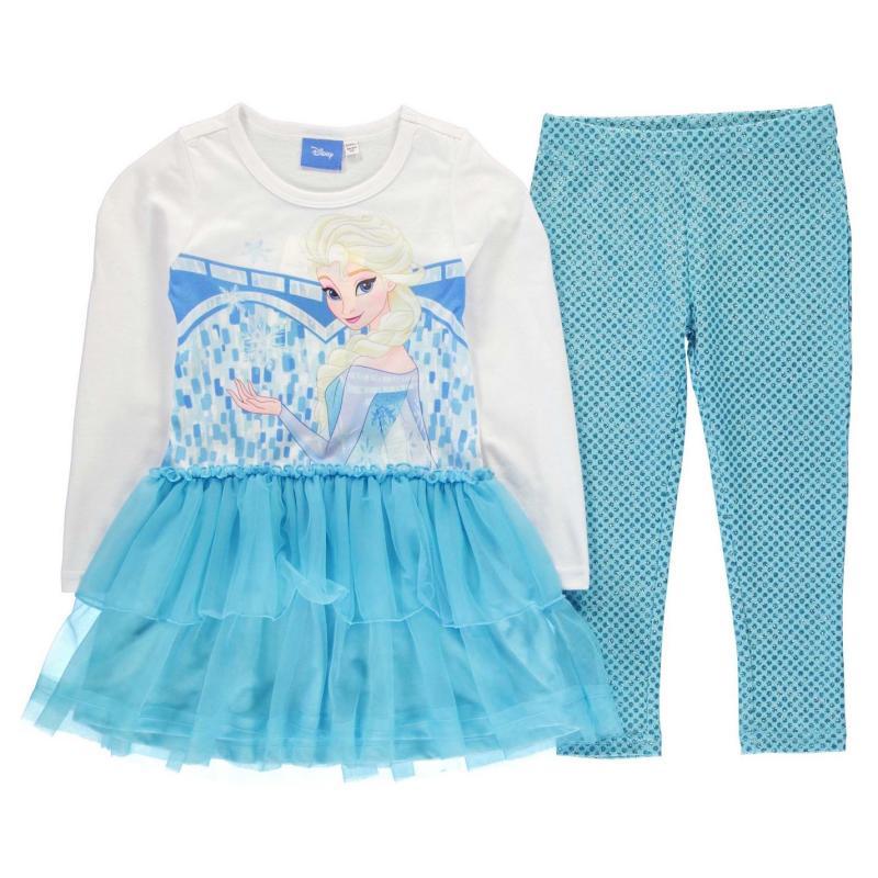 Šaty Character Frill 2 Piece Set Infant Girls Hello Kitty