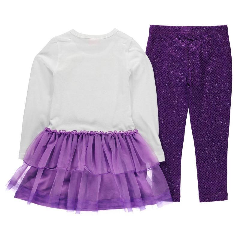 Šaty Character Frill 2 Piece Set Infant Girls Disney Princess
