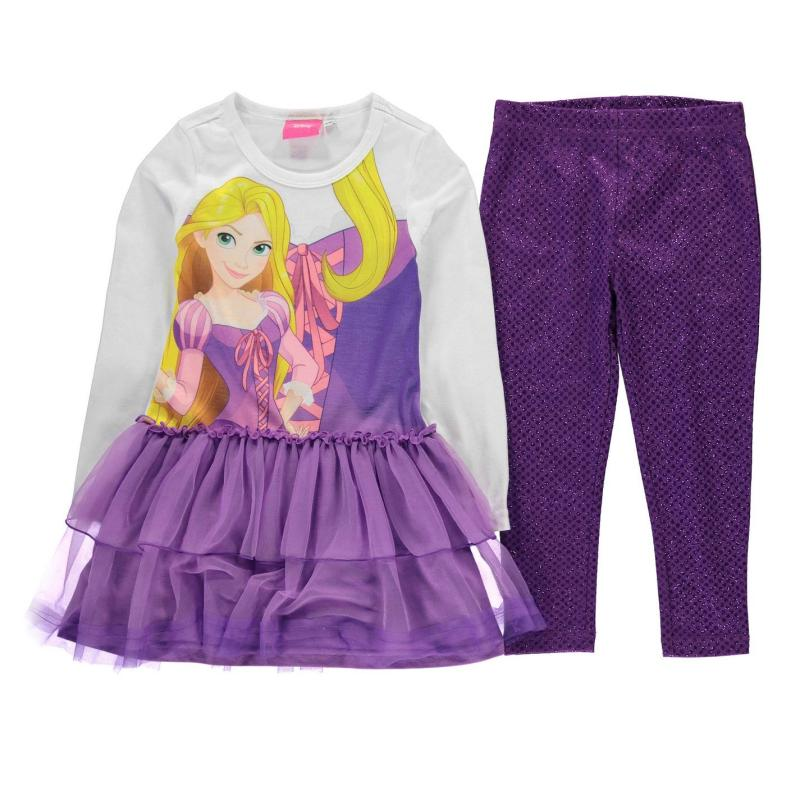 Šaty Character Frill 2 Piece Set Infant Girls Disney Frozen