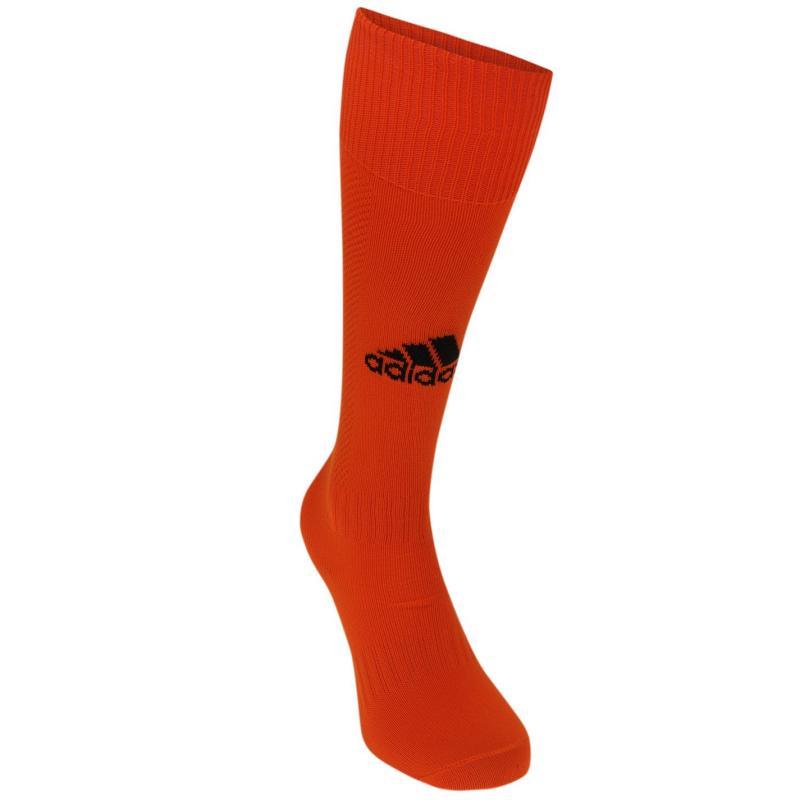 Ponožky adidas Milano Football Socks Mens White/Red