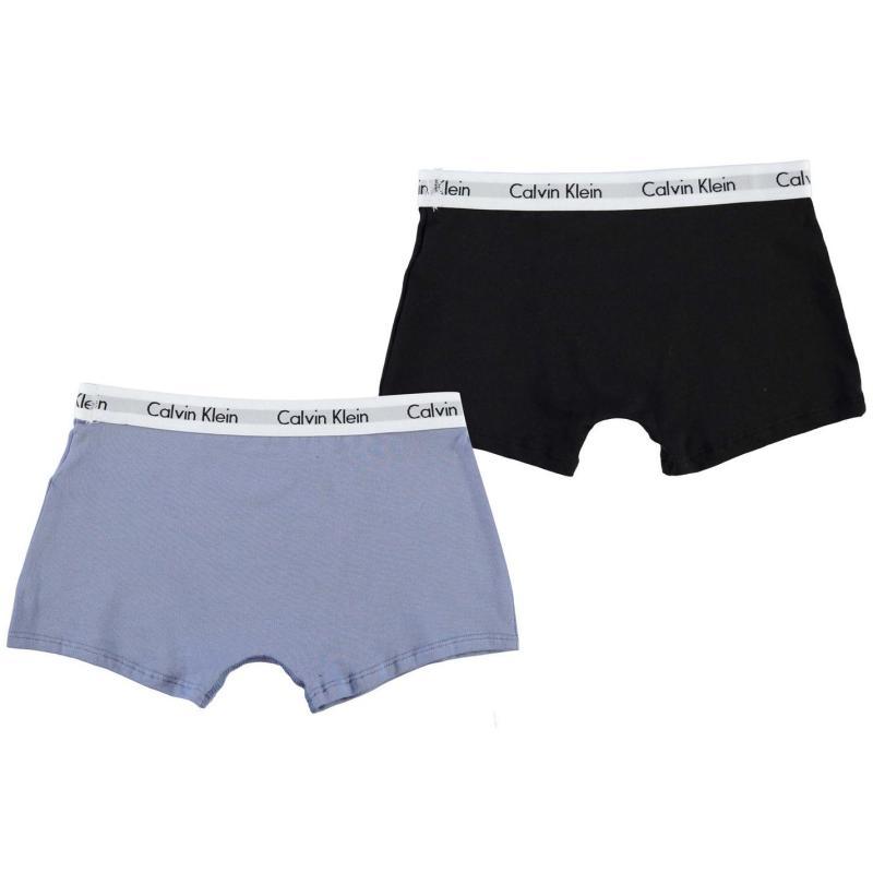 Spodní prádlo Calvin Klein 2 Pack Trunks Blk/Ylw/Wht/Blu